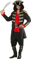 Pirate Captain Costume (Black)